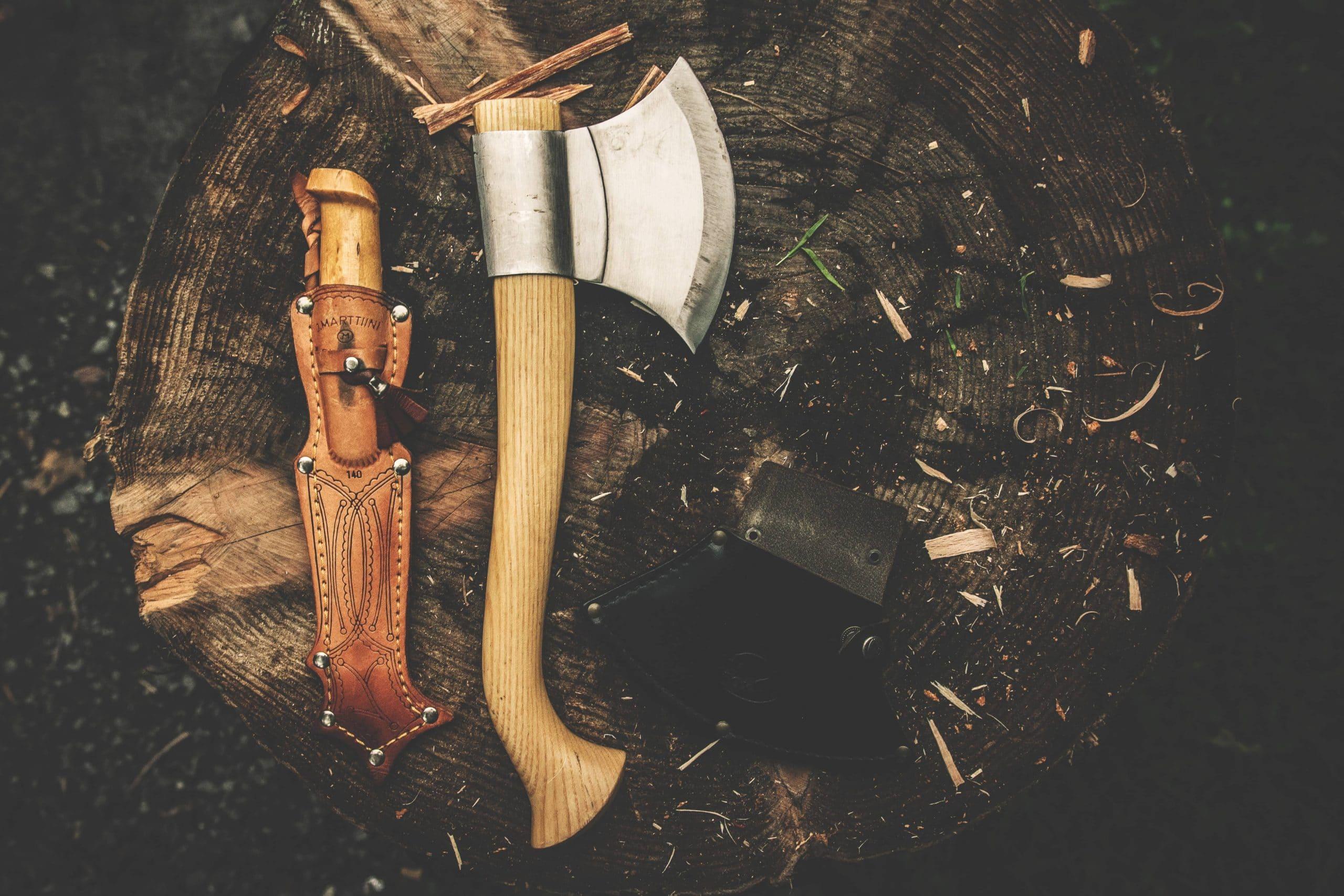 traitement thermique d'un couteau